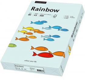 Papier ksero ekologiczny Rainbow Papyrus, A3, 80g/m2, 500 arkuszy, jasny niebieski (R82)