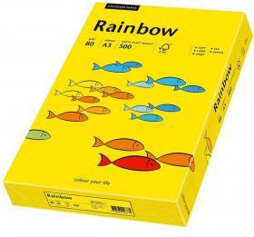 Papier ksero Rainbow Papyrus, A3, 80g/m2, 500 arkuszy, żółty ciemny (R18)