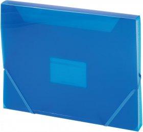 Teczka segregująca Office Depot, A4, 6 przekładek, niebieski