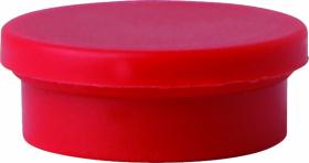 Magnesy Niceday, 20mm, 10 sztuk, czerwony