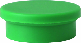 Magnesy Niceday, 20mm, 10 sztuk, zielony