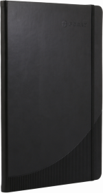 Notatnik w kratkę Foray, A4, twarda oprawa, 96 kartek, czarny