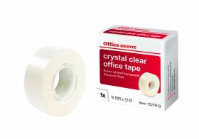Taśma klejąca Office Depot Crystal, 19mm x 33m, przezroczysty