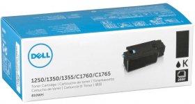 Toner Dell 593-11140 (810WH, DC9NW, DV016F, 593-11016), 2000 stron, black (czarny)