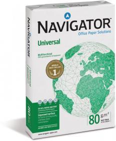 Papier Navigator Universal, A4, 80g/m2, 500 arkuszy, biały