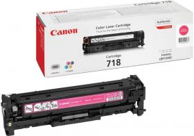 Toner Canon CLBP718, 2900 stron, magenta (purpurowy)