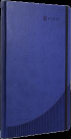Notatnik w linie Foray, A4, twarda oprawa, 96 kartek, granatowy
