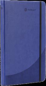 Notatnik w linie Foray, A5, twarda oprawa, 96 kartek, granatowy