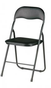 Krzesło składane Realspace To-Go, czarny