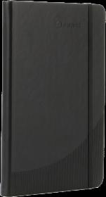 Notatnik gładki Foray, A5, twarda oprawa, 96 kartek, czarny