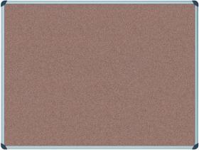 Tablica korkowa Office Depot, w ramie aluminiowej, 90x60cm, brązowy