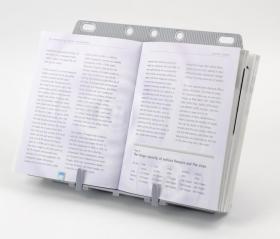 Podstawka pod książkę Fellowes, A4, srebrny