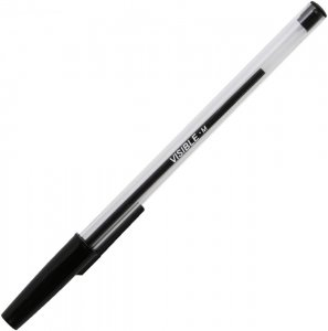 Długopis Niceday, Stick Visible, 1mm, czarny