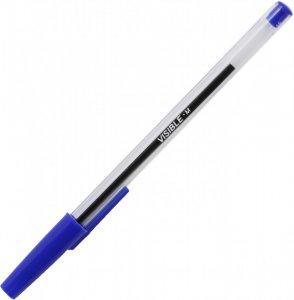 Długopis Niceday, Stick Visible, 1mm niebieski