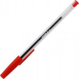 Długopis Niceday, Stick Visible, 0.4mm, czerwony