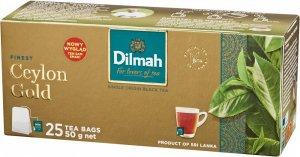 Herbata czarna w torebkach Dilmah Ceylon Gold, 25 sztuk x 2g