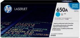 Toner HP CE271A (650A), 15000 stron, cyan (błękitny)
