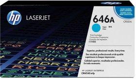 Toner HP CF031A (646A), 12500 stron, cyan (błękitny)