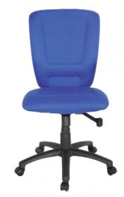 Krzesło obrotowe Realspace to go Ben Nevis, bez podłokietników, niebieski