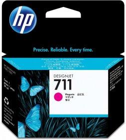 Tusz HP 711 (CZ131A), 29ml, magenta (purpurowy)