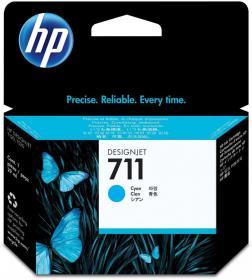 Tusz HP 711 (CZ130A), 29ml, cyan (błękitny)
