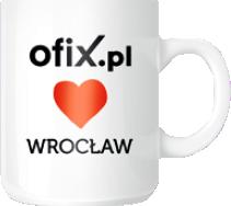 Kubek Ofix Loves Wrocław