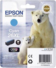 Tusz Epson T2632 XL (C13T26324010), 700 stron, cyan (błękitny)