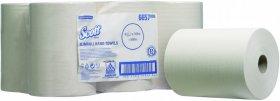 Ręcznik papierowy Slimroll Scott, 1-warstwowe, 6x165 m, 6 rolek, biały