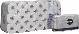 Papier toaletowy Kleenex standard, w roli, 2-warstwowy, 36 rolek, biały