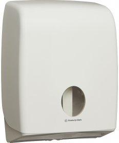 Dozownik do papieru toaletowego Kimberly-Clark, Professional Aquarius, podwójny, biały