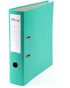 Segregator Ofix Economy, A4, szerokość grzbietu 75mm, do 500 kartek, turkusowy