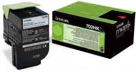 Toner Lexmark 70C2HK0 (702HK), 4000 stron, black (czarny)