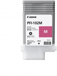 Tusz Canon CF0897B001AA (PFI102M), 130 ml, magenta (purpurowy)