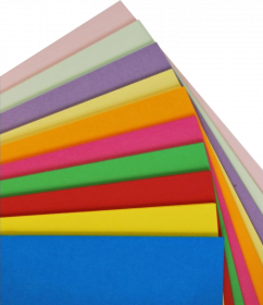 Brystol, A1, 160g/m2, 20 arkuszy, mix kolorów