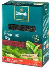 Herbata czarna liściasta Dilmah Premium Tea Ceylon Orange Pekoe, 100g