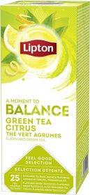 Herbata zielona cytrynowa w kopercie Lipton Green Tea Citrus, 25 kopert