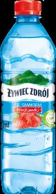 Woda smakowa niegazowana Żywiec Zdrój woda ze smakiem, truskawkowy, 0.5l