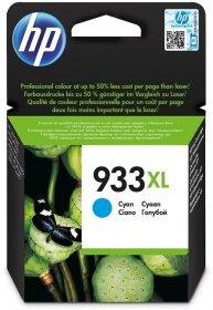 Tusz HP, CN054AE, 933XL, 825 stron, cyan (błękitny)