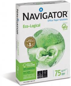 Papier ksero ekologiczny Navigator Eco-Logical, A4, 75g/m2, 500 arkuszy, biały