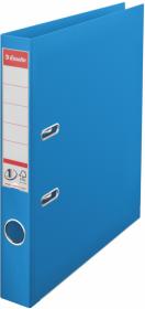 Segregator Esselte Vivida No.1 Power, A4, szerokość grzbietu 50mm, do 350 kartek, niebieski