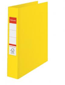 Segregator Esselte Vivida No.1 Power, A4, szerokość grzbietu 50mm, do 350 kartek, żółty