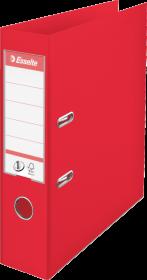 Segregator Esselte Vivida No.1 Power, A4, szerokość grzbietu 75mm, do 500 kartek, czerwony