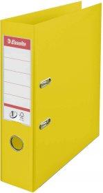Segregator Esselte Vivida No.1 Power, A4, szerokość grzbietu 75mm, do 500 kartek, żółty