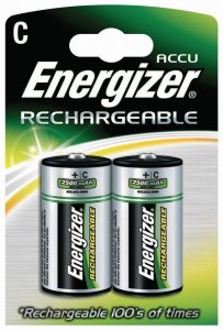 Akumulator Energizer, C HR14, 2500 mAh, 2 sztuki
