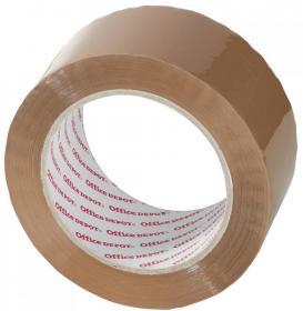 Taśma pakowa, Office Depot, 50mmx100m, brązowy