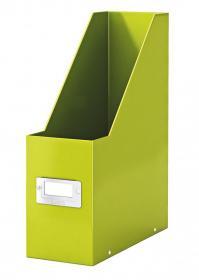 Pojemnik Leitz Wow Click&Store, A4, 95mm, do 950 kartek, zielony