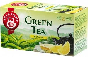 Herbata zielona smakowa w kopertach Teekanne Green Tea Lemon, cytryna, 20 sztuk x 1.75g