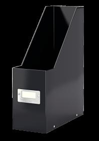 Pojemnik Leitz Wow Click&Store, A4, 95mm, do 950 kartek, czarny