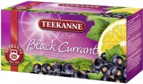 Herbata owocowa w kopertach Teekanne Black Currant with lemon, czarna porzeczka z cytryną, 20 sztuk x 2.5g