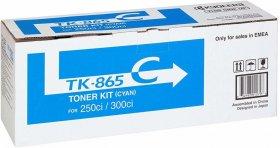 Toner Kyocera TK-865C (1T02JZCEU0), 12000 stron, cyan (błękitny)